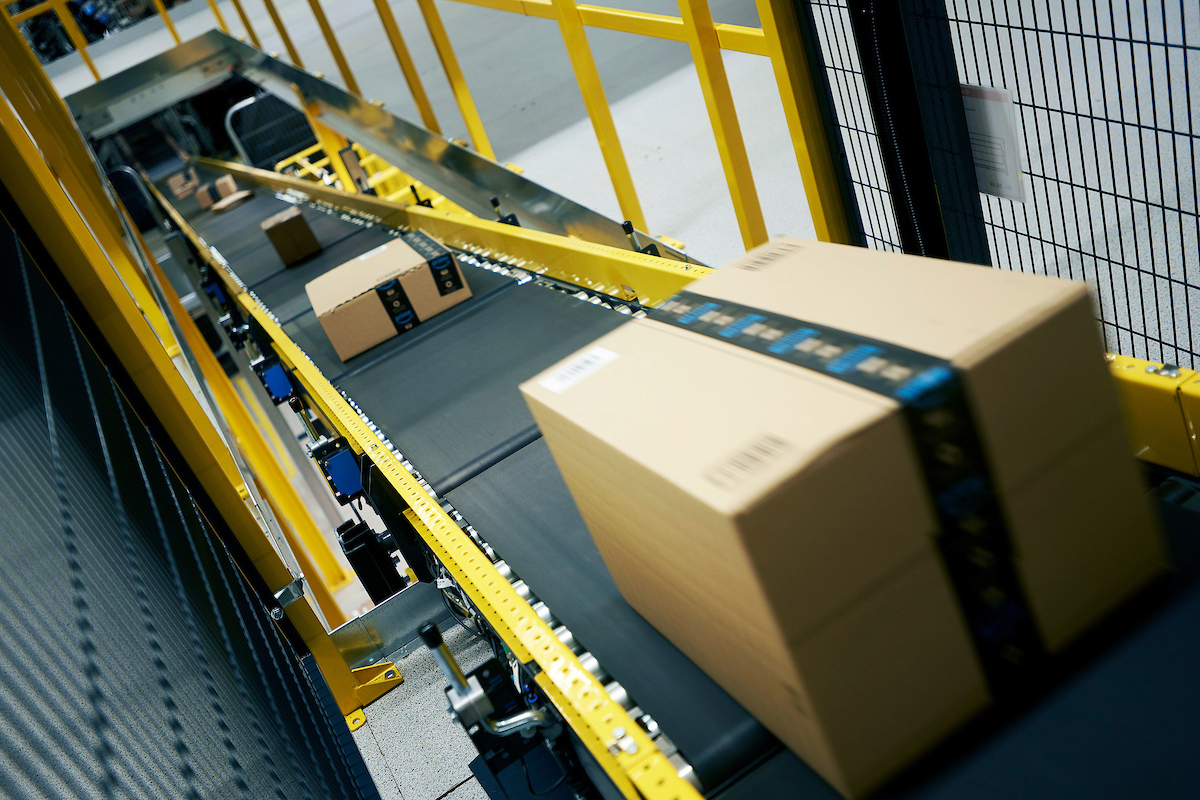 Amazon  - MAN2 - Warrington Fulfilment centre for the Warrington Guardian.  �Victor De Jesus/UNP