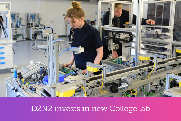 D2N2 invests in new College lab.png