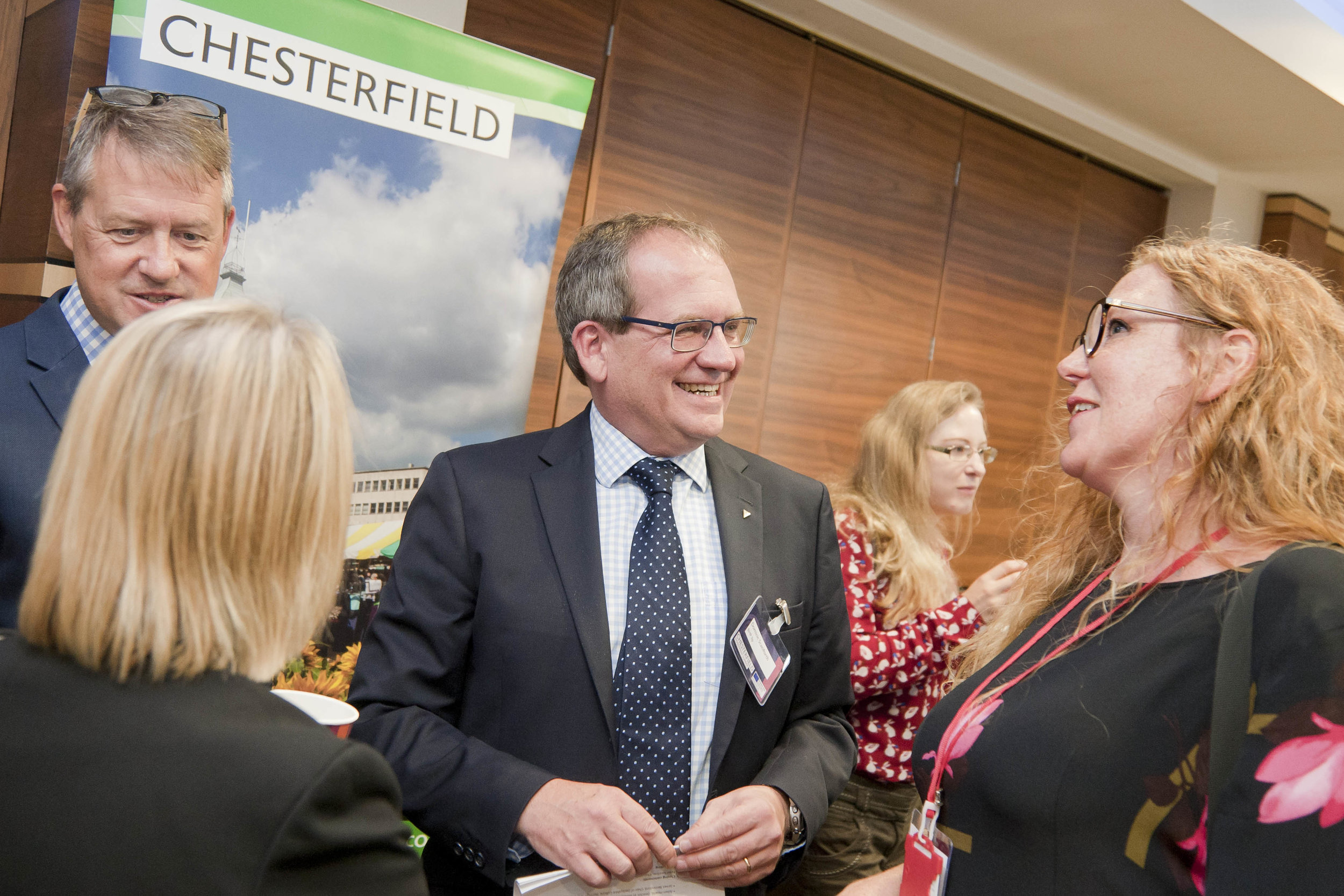 Chesterfield Investment Summit 2018 held at the Casa Hotel, Chesterfield, organised by Destination Chesterfield.