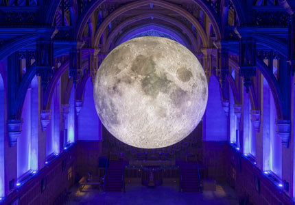 Museum of the Moon Photo Credit: Luke Jerram