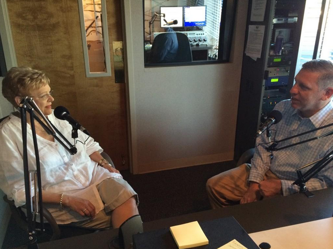 Lester on air with the Joe Tilley Show, AM 1450 WBHF.