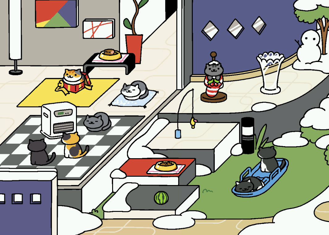 Honorable Mention to Neko Atsume
