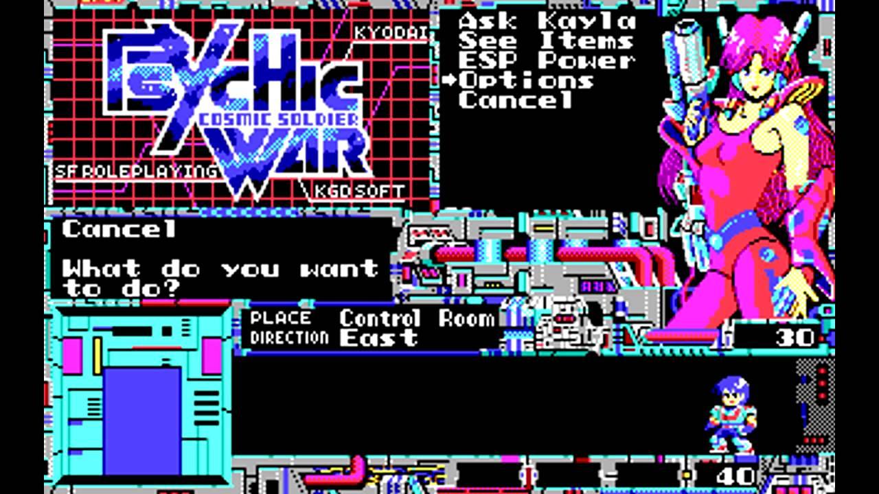 Psychic War (ASCII, 1987)