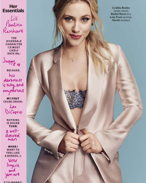 Publication: Cosmopolitan February 2018  Photographed by Eric Ray Davidson   https://www.cosmopolitan.com/entertainment/a14462373/camila-mendes-lili-reinhart/