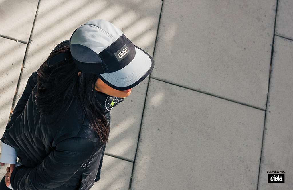 Go cop a cap from  CIELE . They look sweet and they come in an assortment of colors to best suit your running kit. – Ciele makes caps to run in. They are made from COOLwick™ materials.