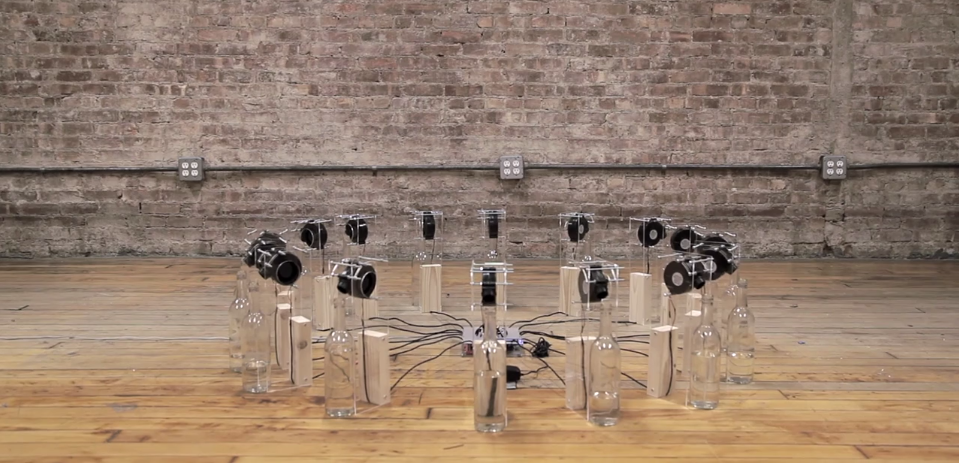Go hear the wind play some  experimental sound art  over on  The Creators Project  (Vice).