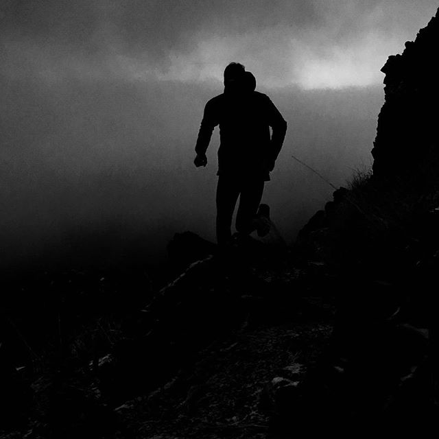 Low clouds offer a sense of detachment and adventure to a otherwise common area. Another element to play in.  #meritendurance  #runmerit  #letusgorunning