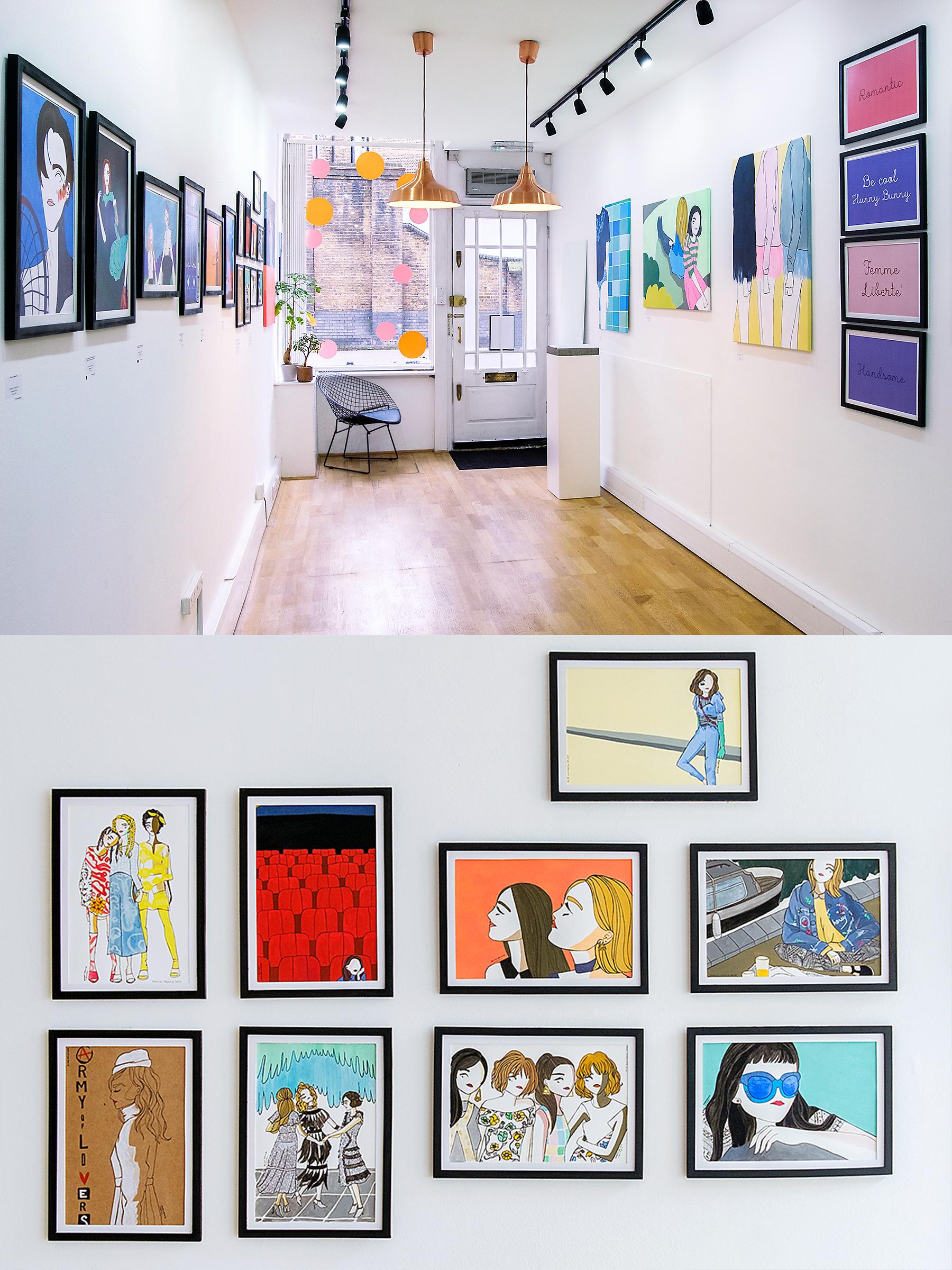 inno Art Gallery L'Art de Vivre by Rosa and Carlotta Crepax