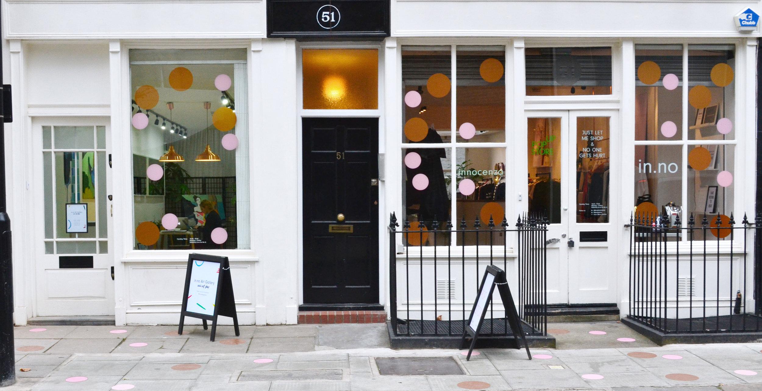 inno Store and inno Art Gallery Fitzrovia London
