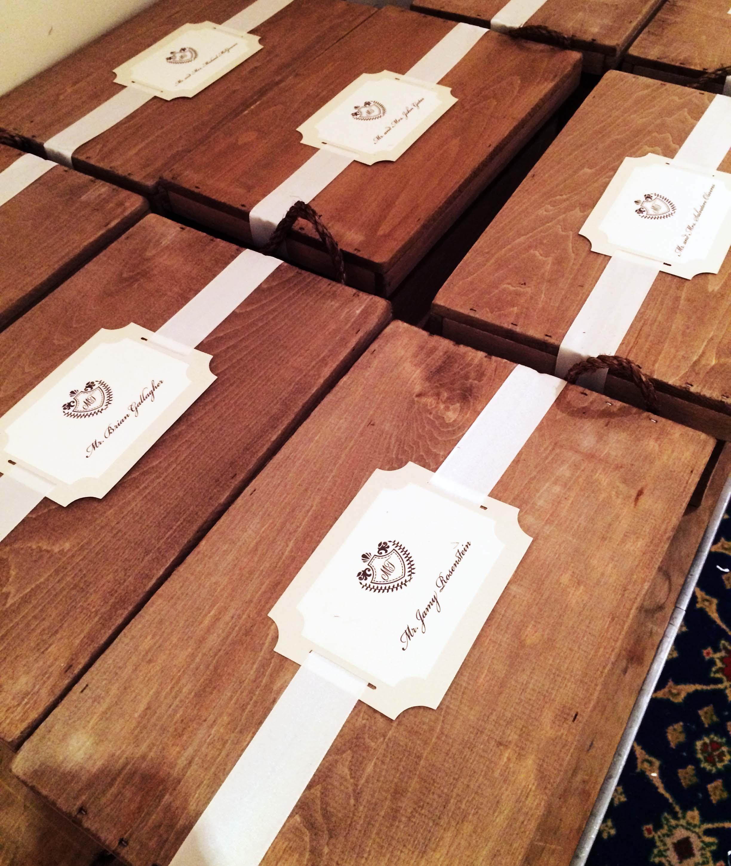 ITALIAN WEDDING WELCOME BOXES