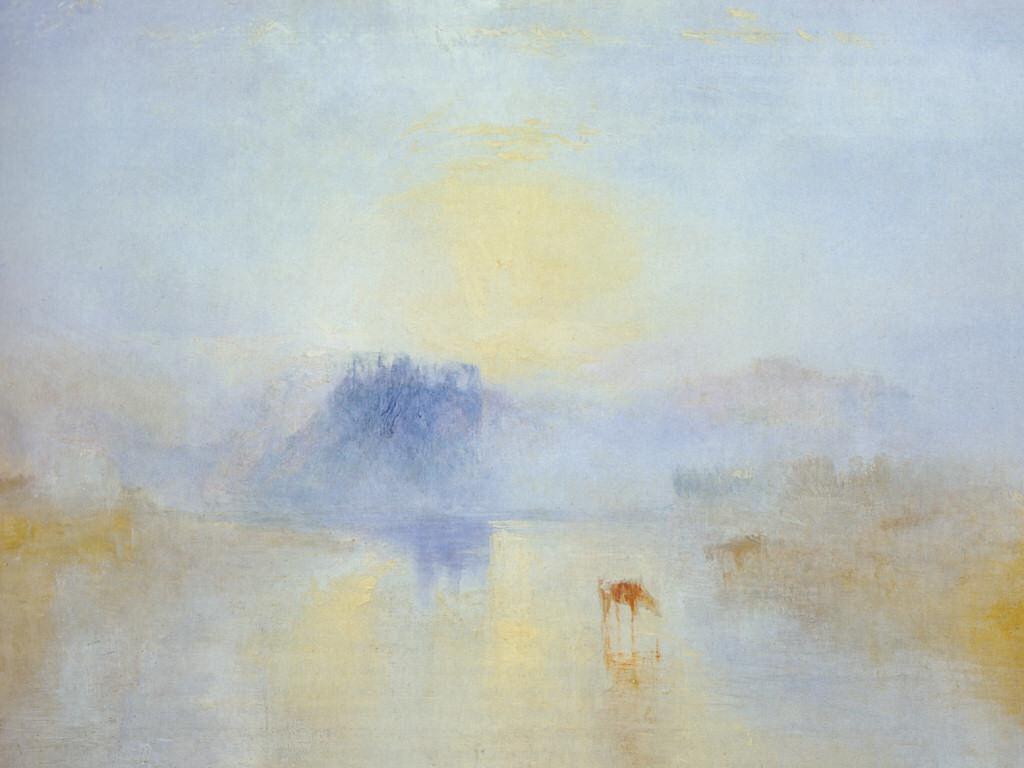 Norham Castle, Sunrise , 1845