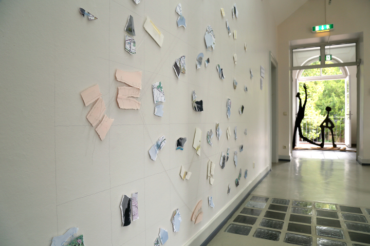 Kelly M. O'Brien, installation view,  Mending |Tending . ©2017 Image: Anna Meuer