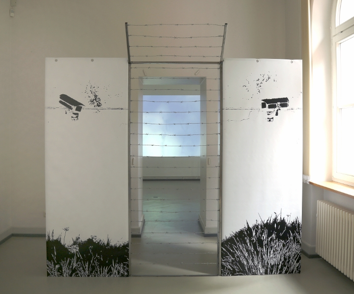 Claudia Grom, installation view ©2017 Image: Anna Meuer
