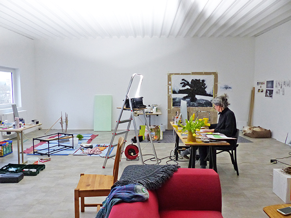 CKCK Residency at Claudia Grom's studio, Bad Kissingen, 11 - 15 March 2019. Image: Chris Kircher