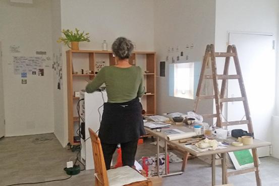 CKCK Residency at Claudia Grom's studio, Bad Kissingen, 11 - 15 March 2019. Image: Chris Kircher