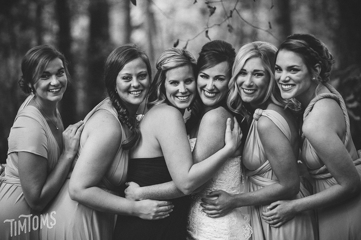 Bridesmaids Northwest Arkansas Wedding Photographer
