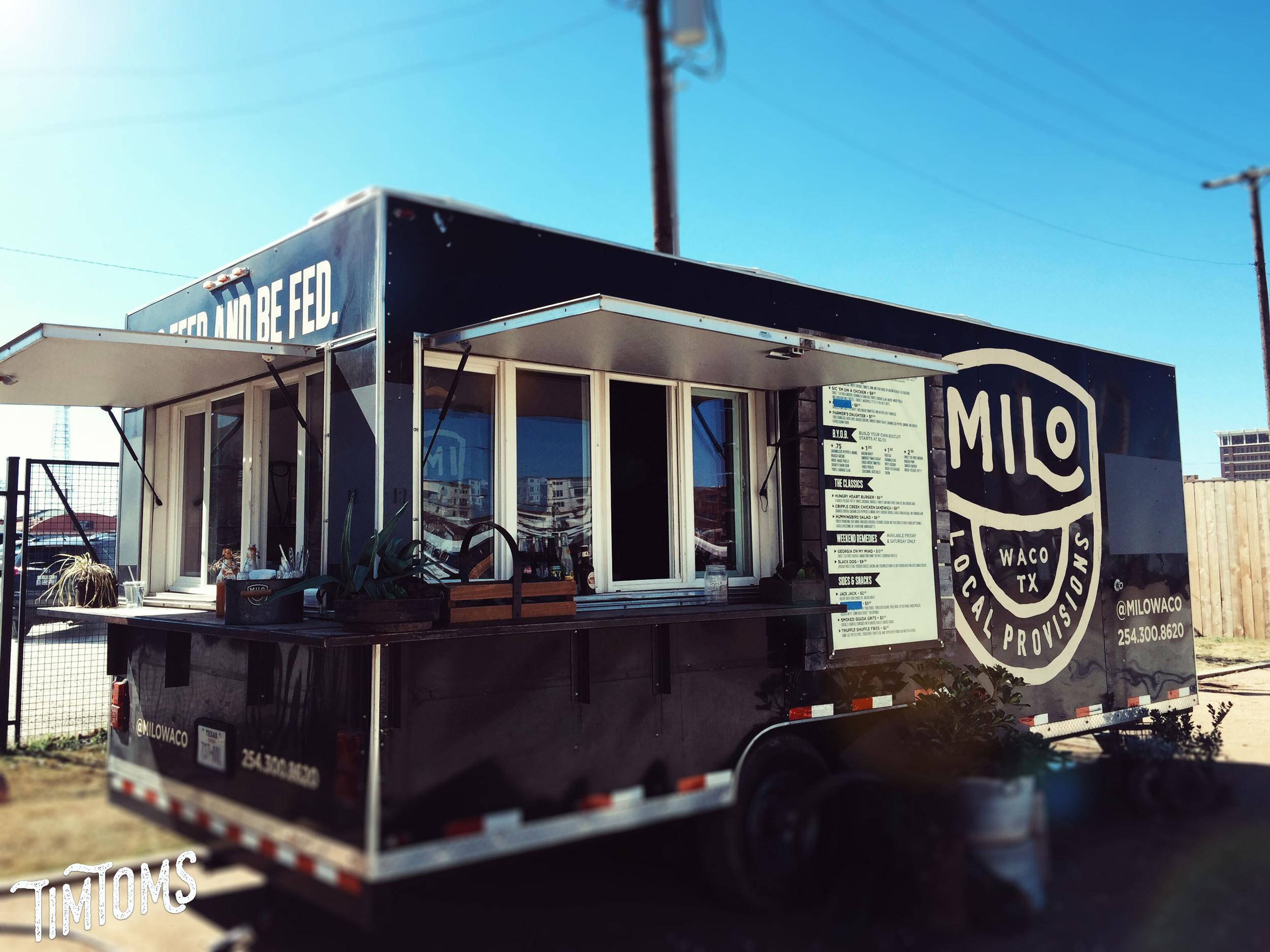 Milo Food Truck Magnolia Market Waco Texas