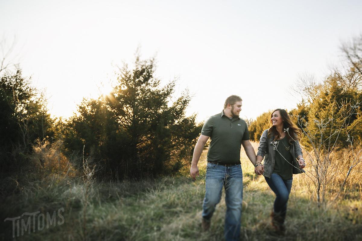 Outdoor Photography Joplin Missouri Engagement