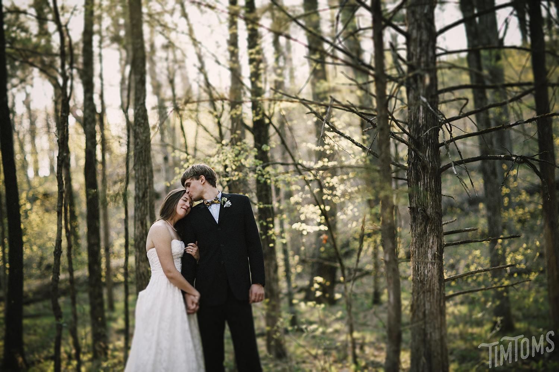 Arkansas Forest Wedding