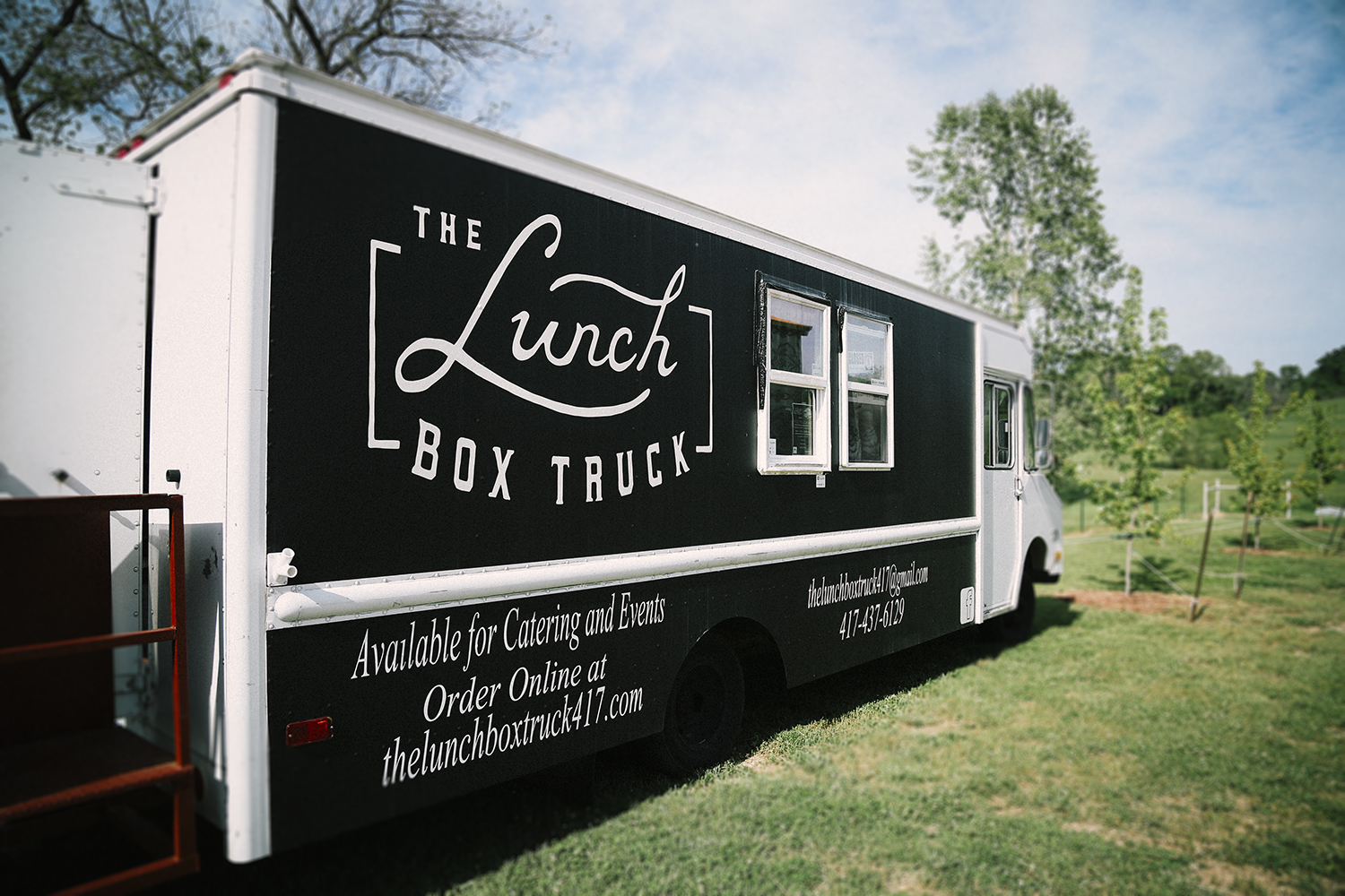 The Lunch Box Truck Food