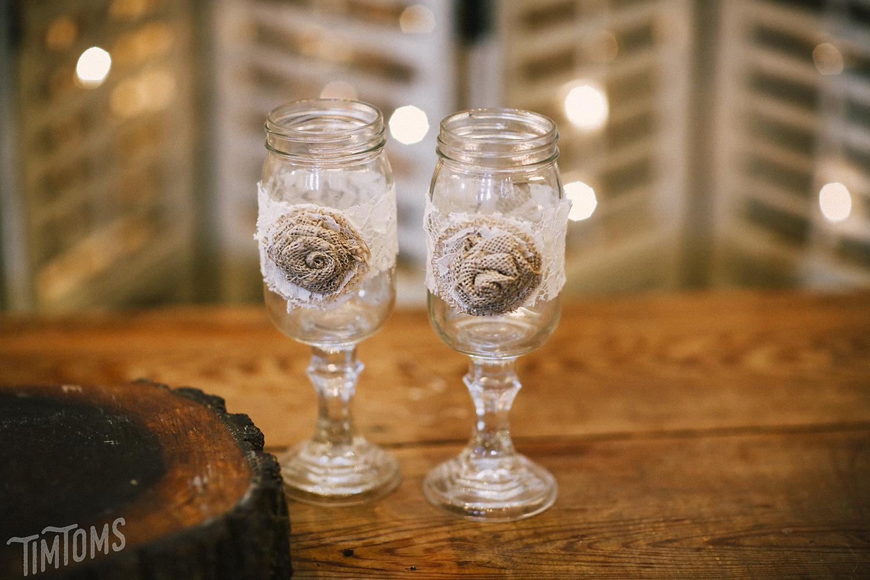 Wedding Decoration Set Glasses
