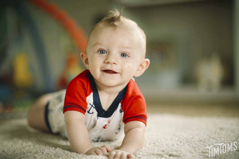 6 Month Portrait Tripp Johnson Neodesha Kansas