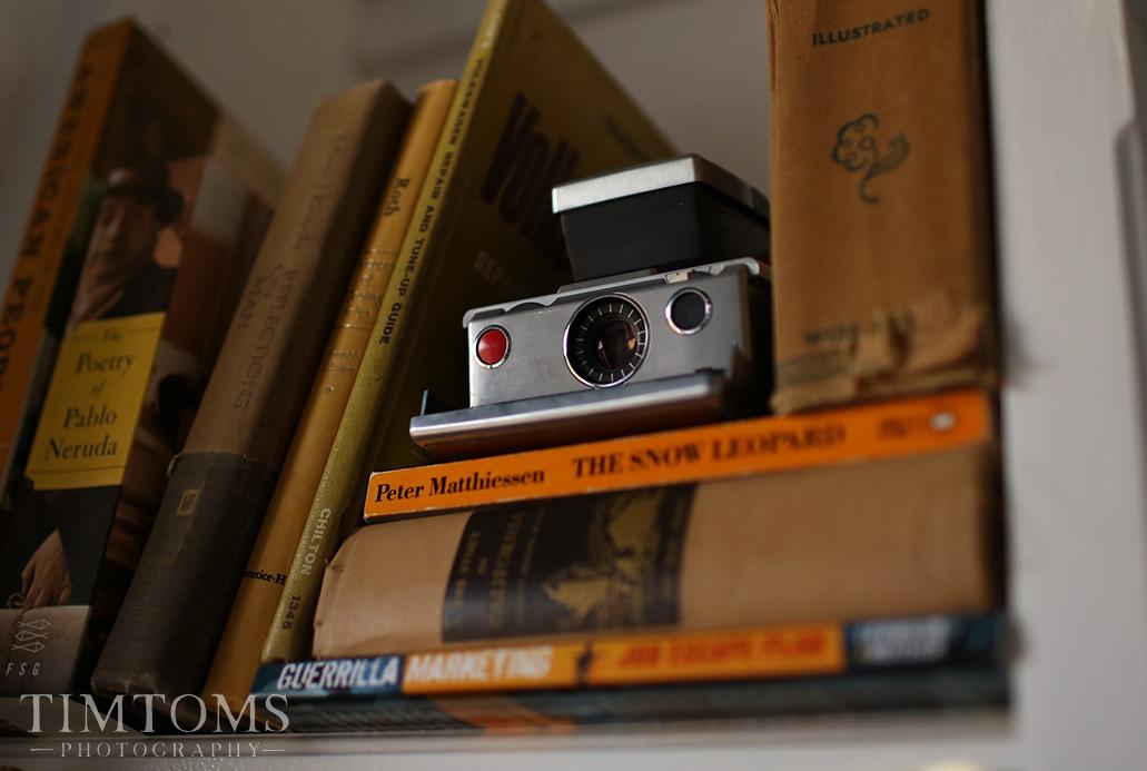 Polaroid SX-70 land Film Camera