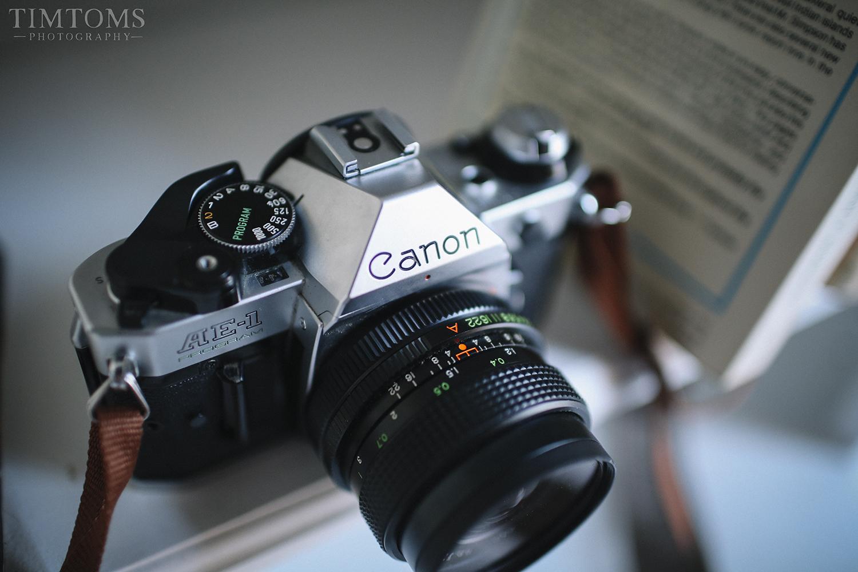 Canon AE-1 Vintage Camera Flea Market Find