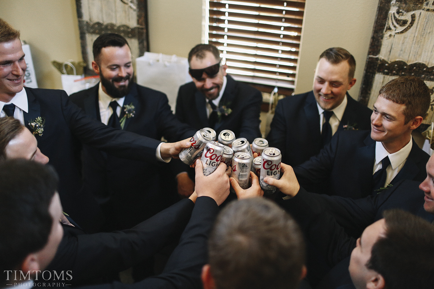 Groom and Groomsmen Speech Toast Cheers