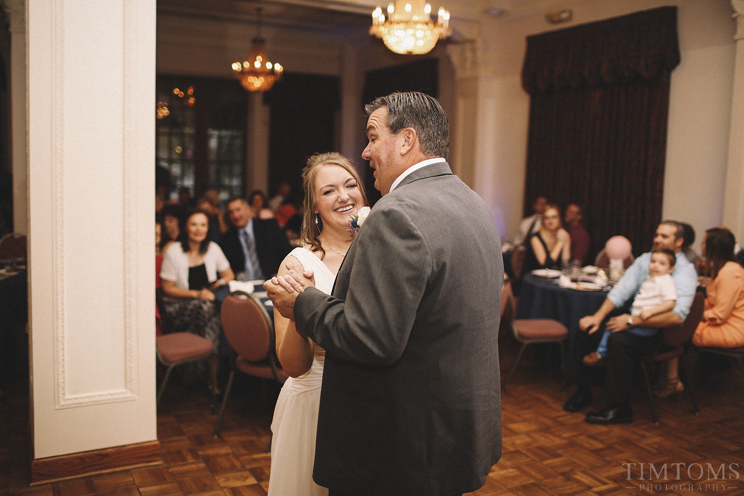 Father Daughter Dance Booth Hotel Independence Kansas Wedding
