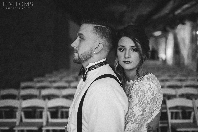 Bride and Groom Ramsay joplin Tim Toms