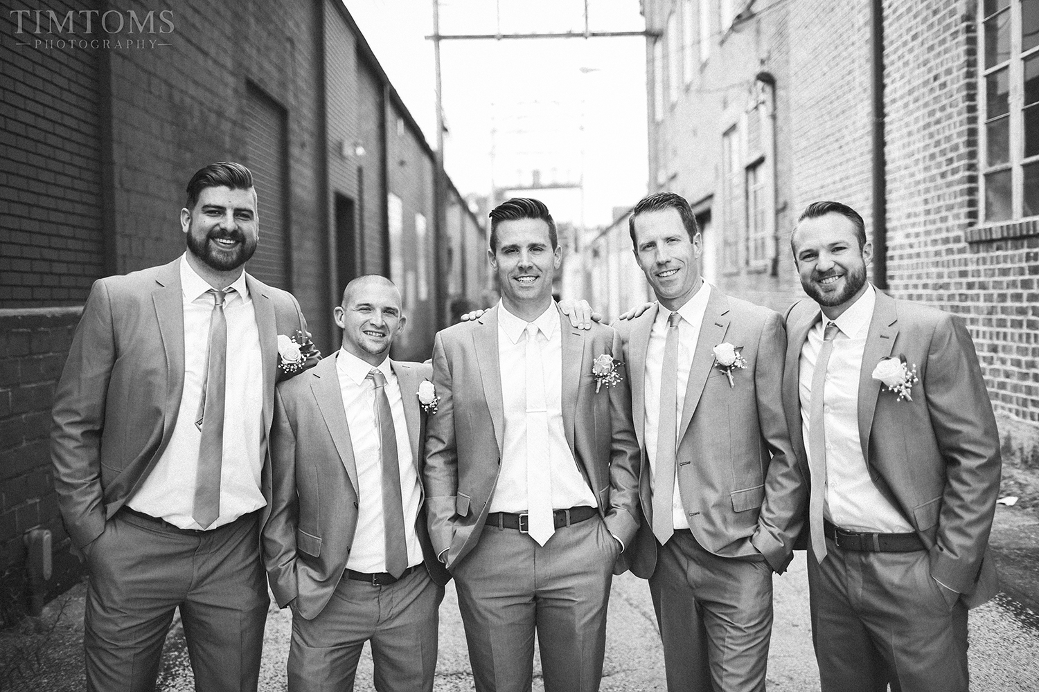Downtown Joplin Wedding