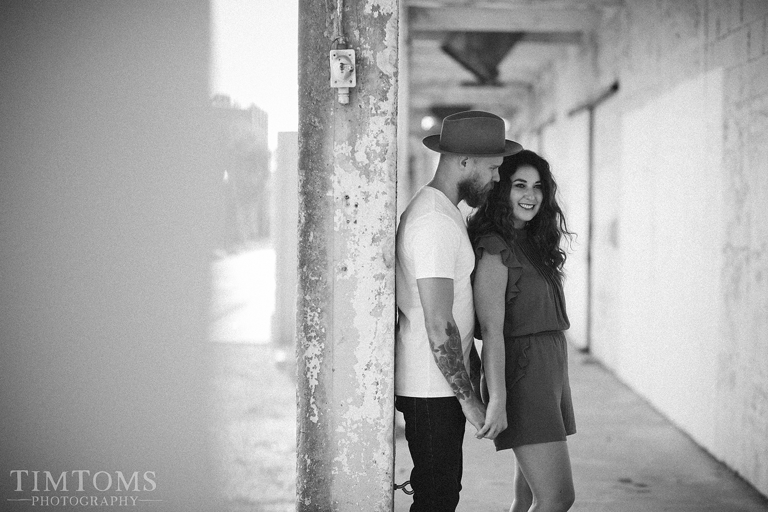 Engagement Photography Session Downtown Springfield Missouri
