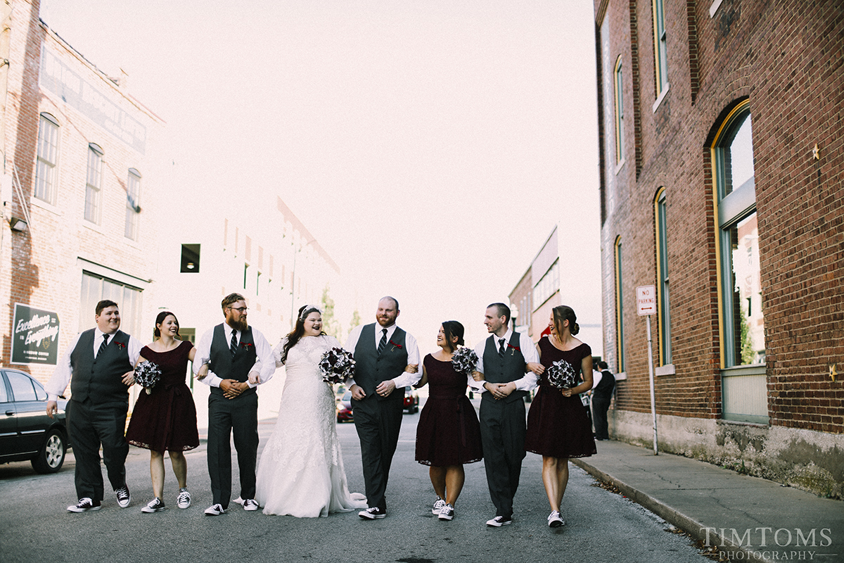Springfield Brewing Company Wedding Downtown