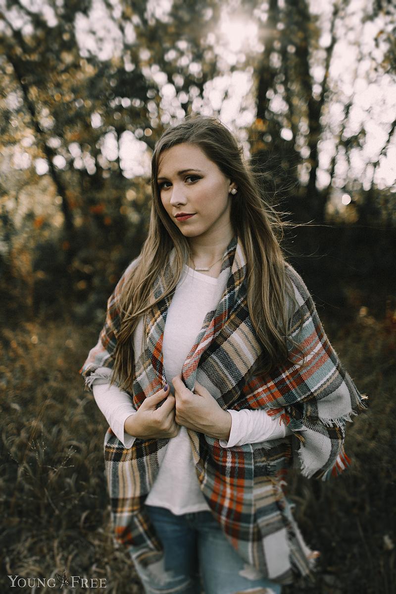 northwest arkansas senior portrait photography