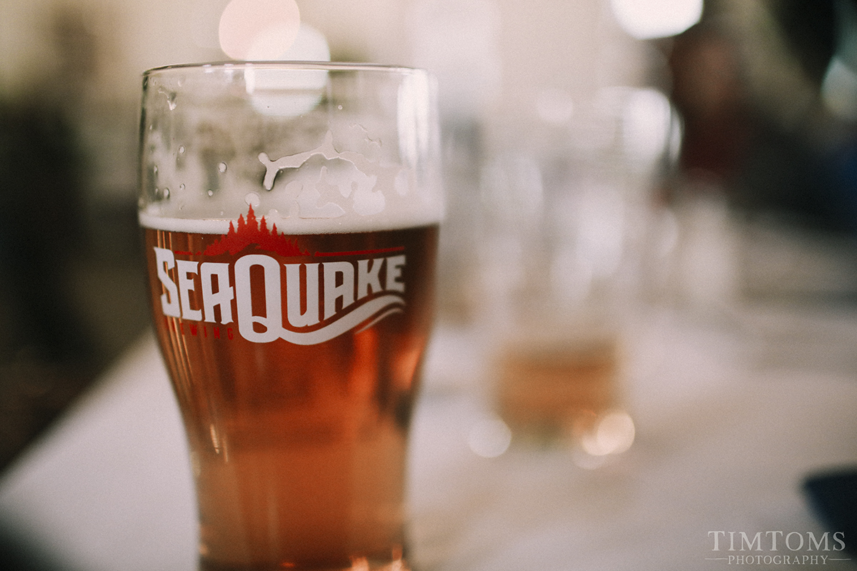 Seaquake Brewery Crescent City California Wedding