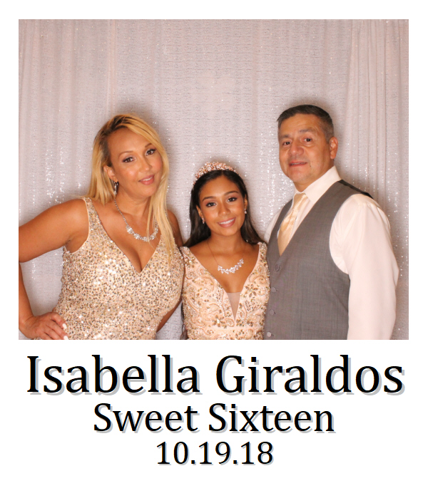 Isabella Giraldos Sweet Sixteen 10.19.18