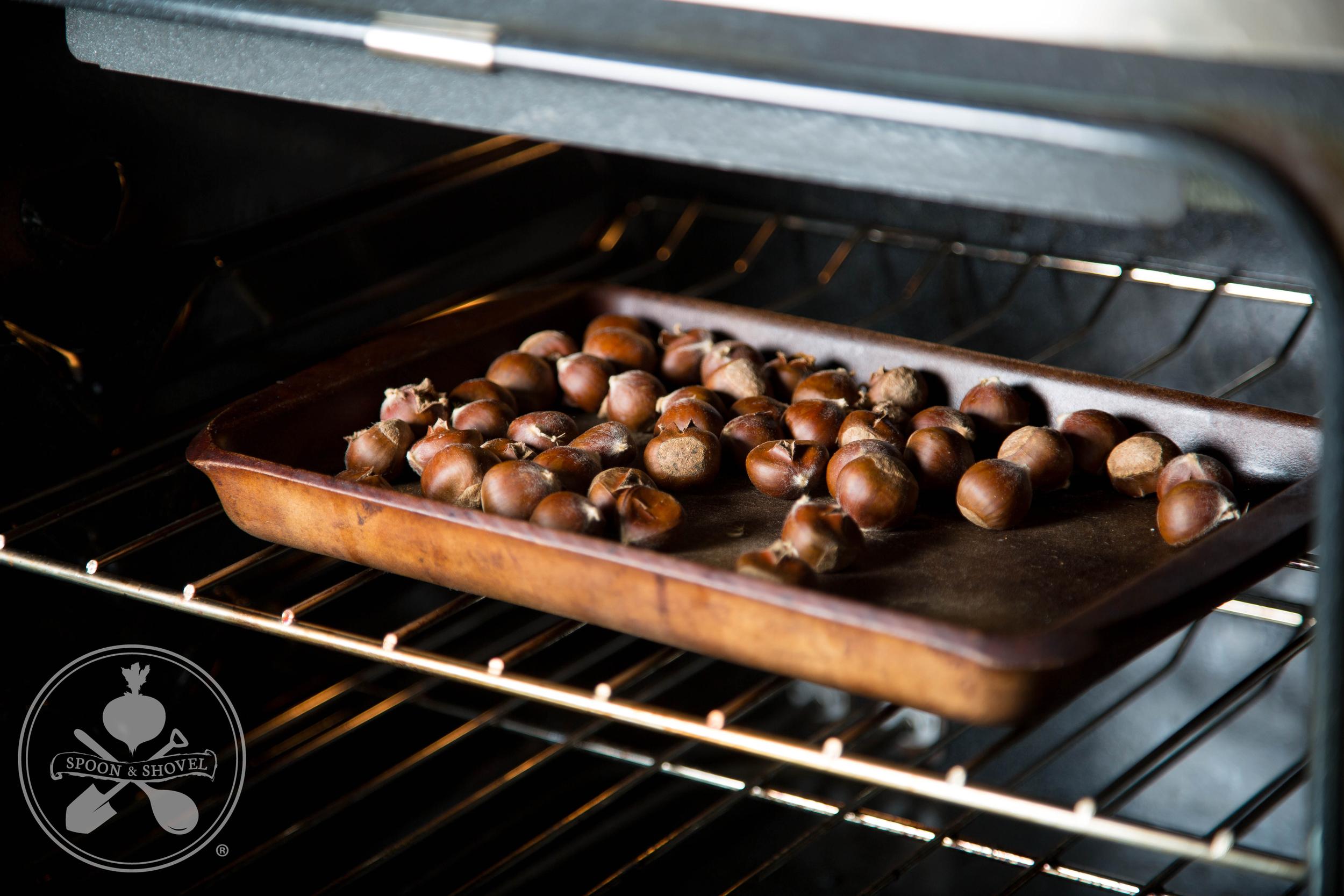 Vegan chestnut stuffing from The Spoon + Shovel
