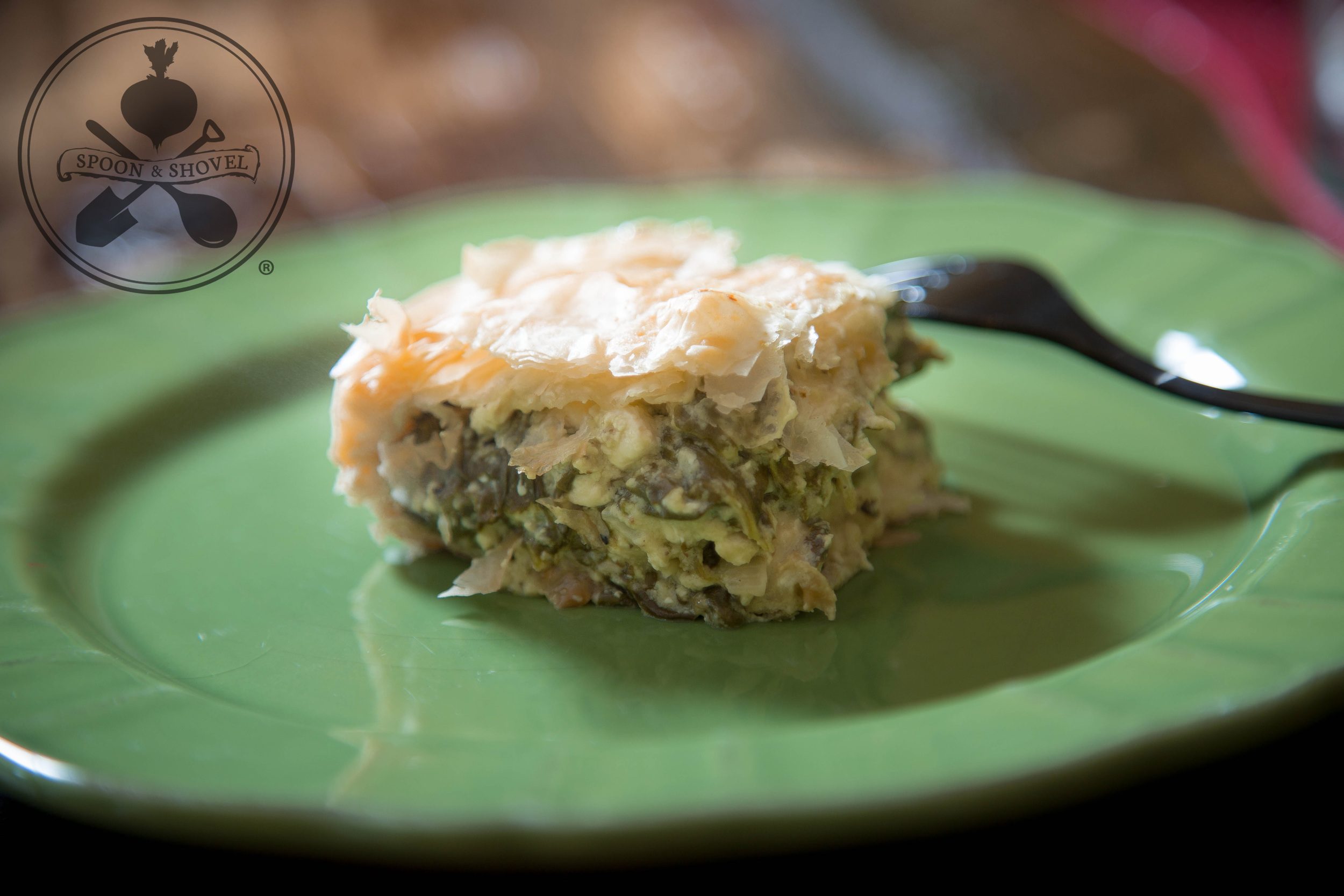 Vegan spanakopita from The Spoon + Shovel