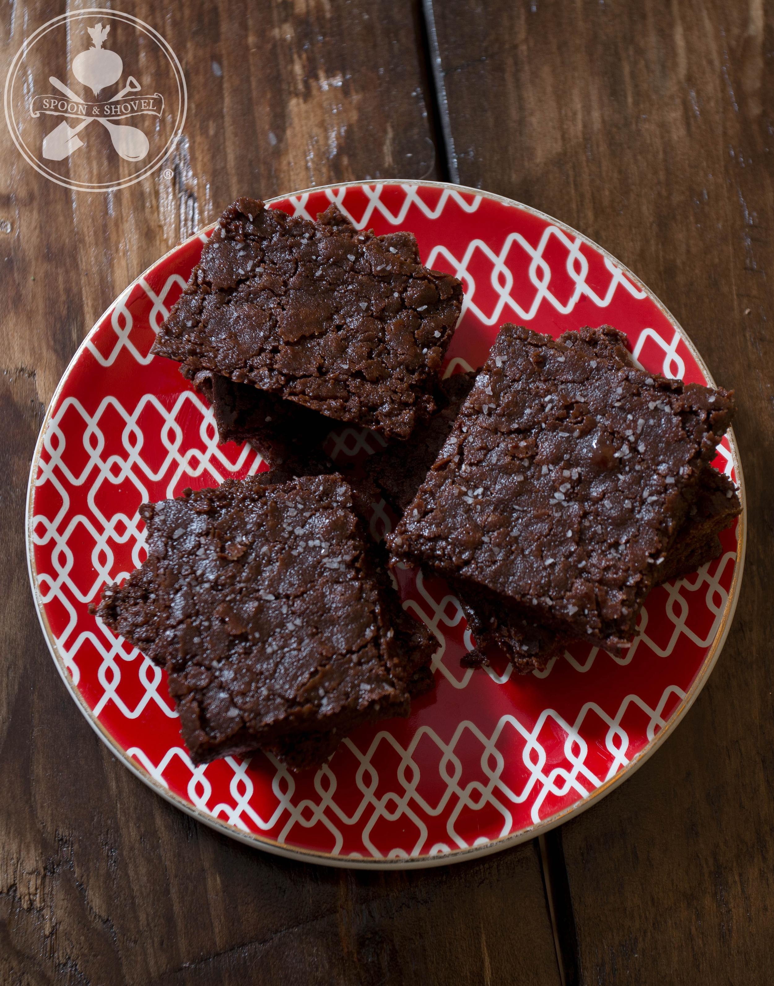 """Spicy vegan """"Mayan"""" brownies from The Spoon + Shovel"""