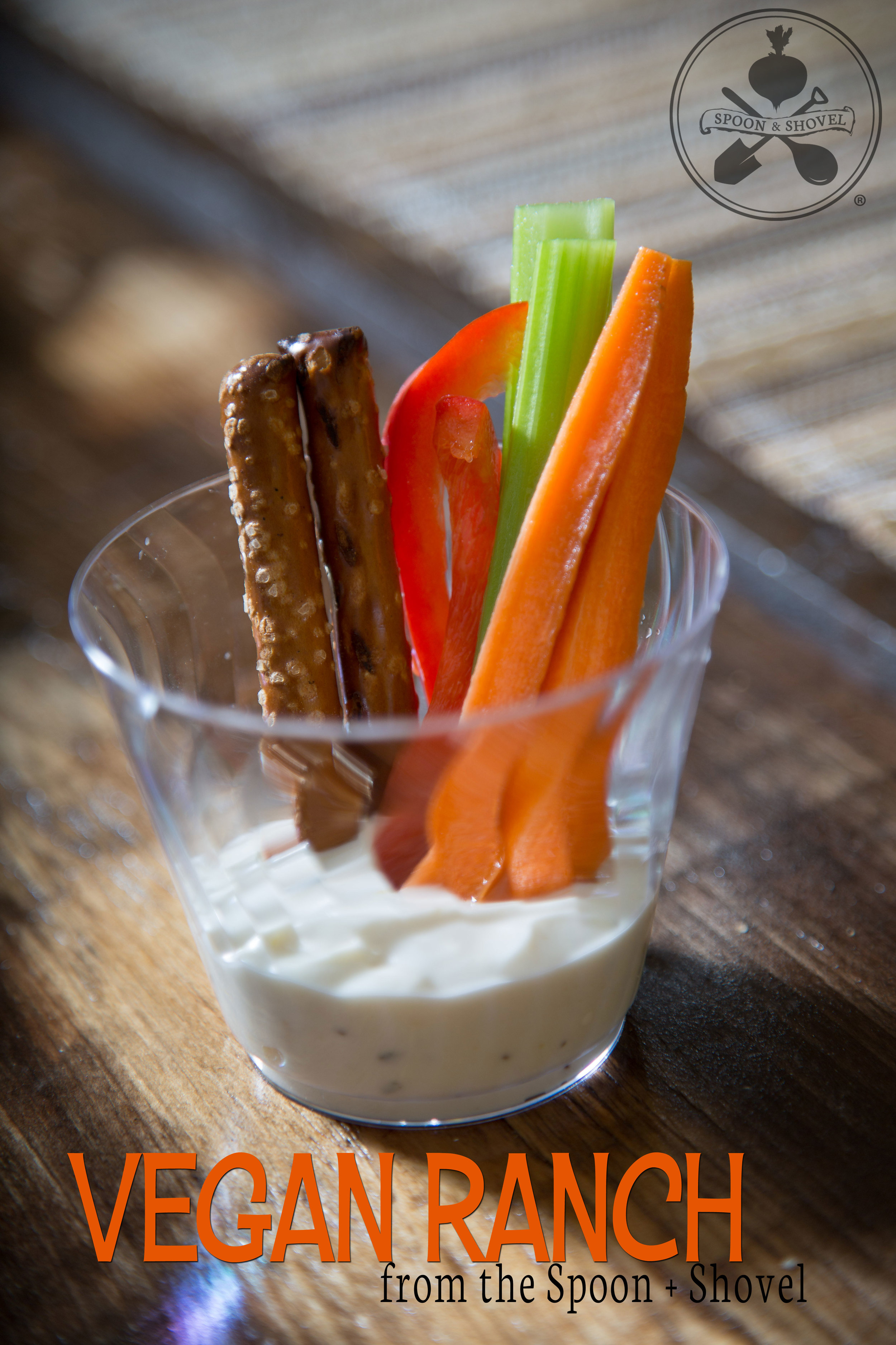 Vegan ranch sauce from The Spoon + Shovel