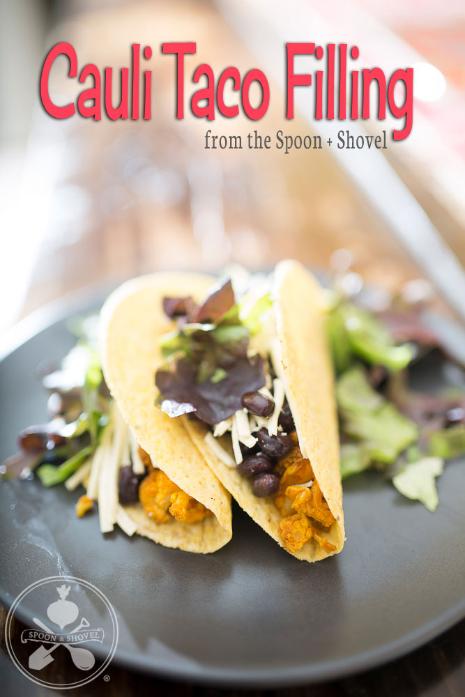 Spicy cauli taco filling from The Spoon + Shovel