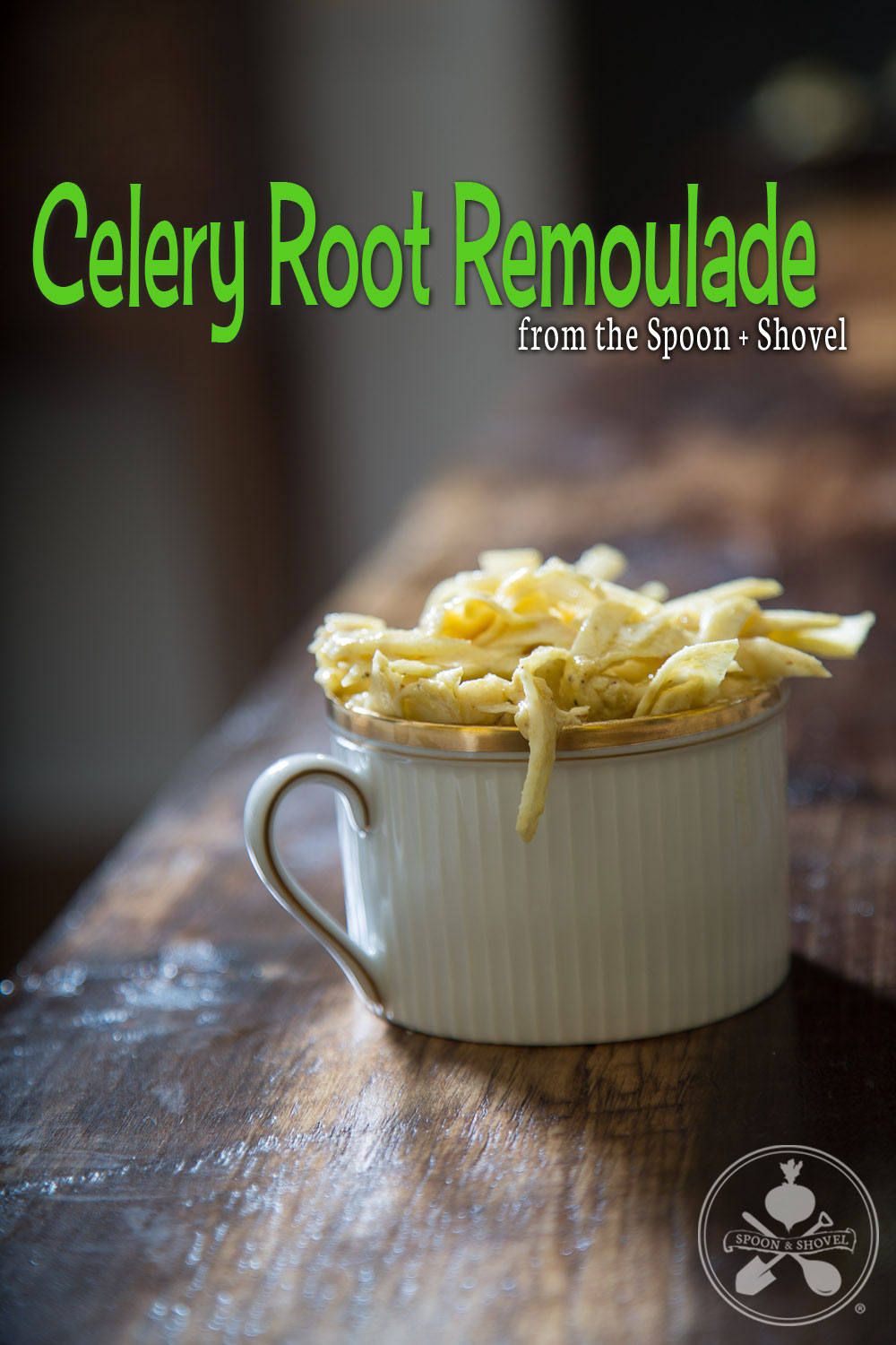 Vegan celery root remoulade from The Spoon + Shovel