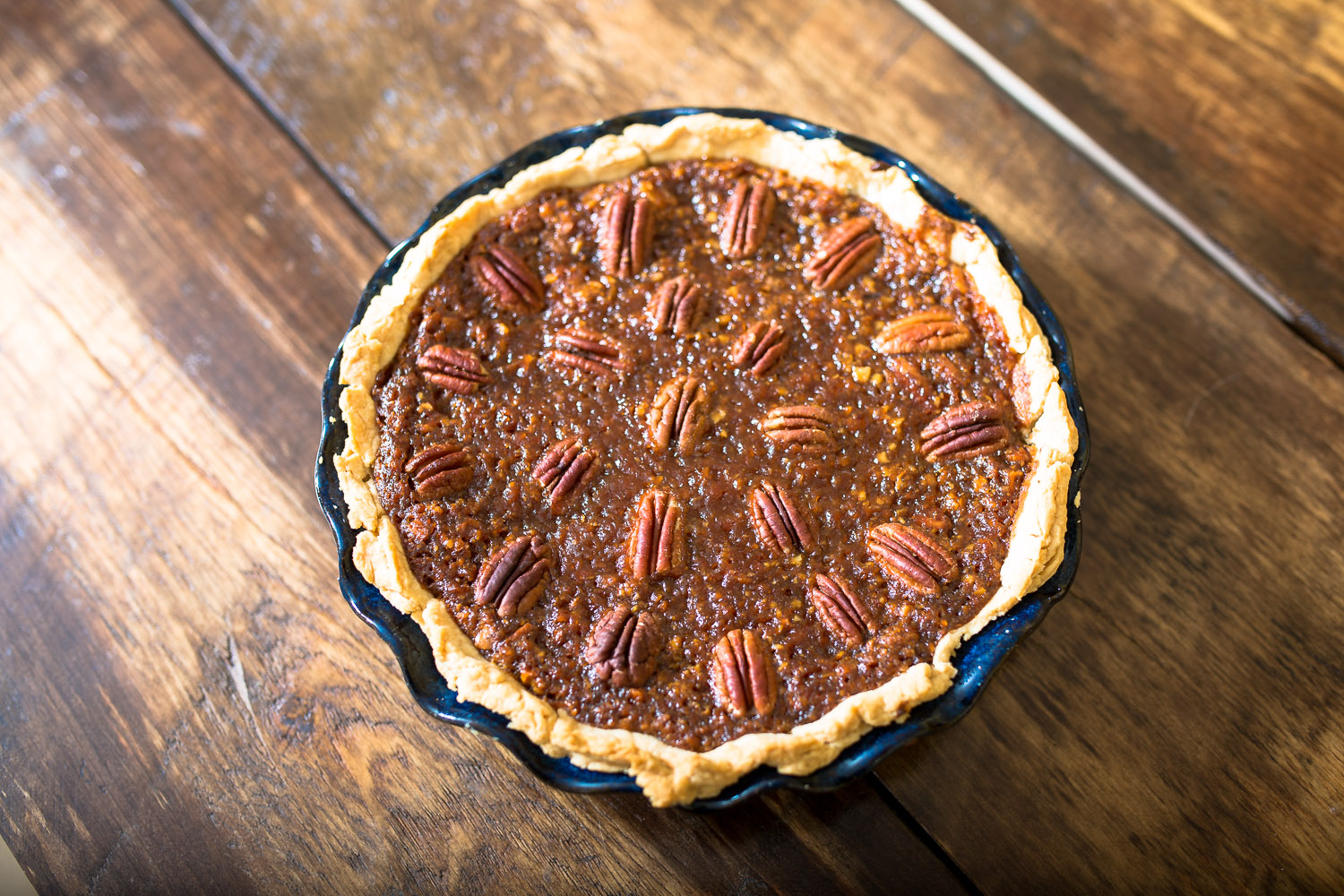 Vegan old-fashioned pecan pie from The Spoon + Shovel