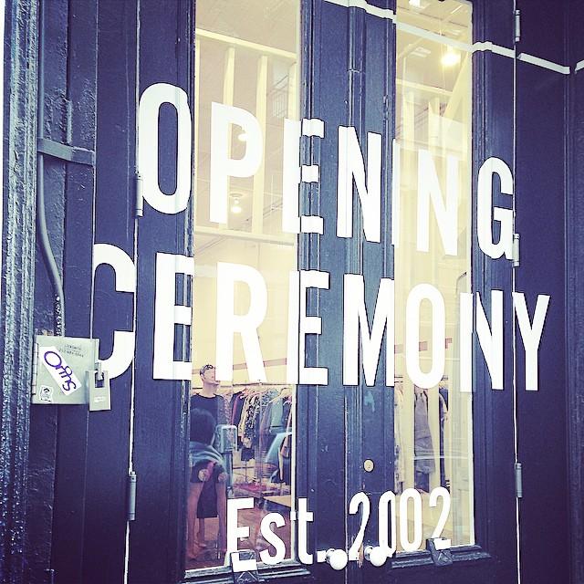 #openingceremony #soho #sundayfunday