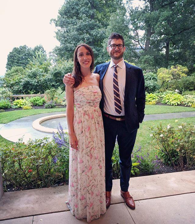 Throw back to @ninamelias + Doug's amazing wedding last Friday � We love a good excuse to play dress up.