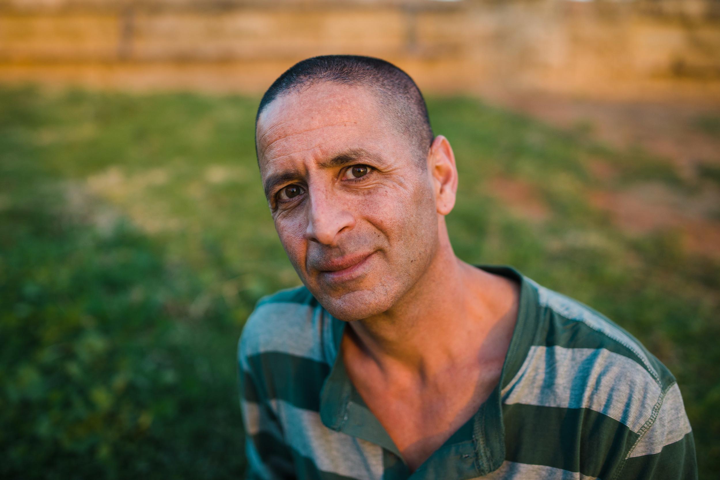 Dror, Israeli tour guide. Jaffa, Israel