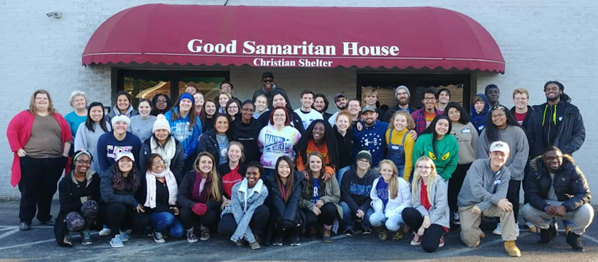 Centre College Bonners hosts Bonners from Berea College and Lindsey Wilson College who attended Centre's opening Saturday of Poverty and Homelessness Awareness Week (as part of Bonner Sophomore Exchange).
