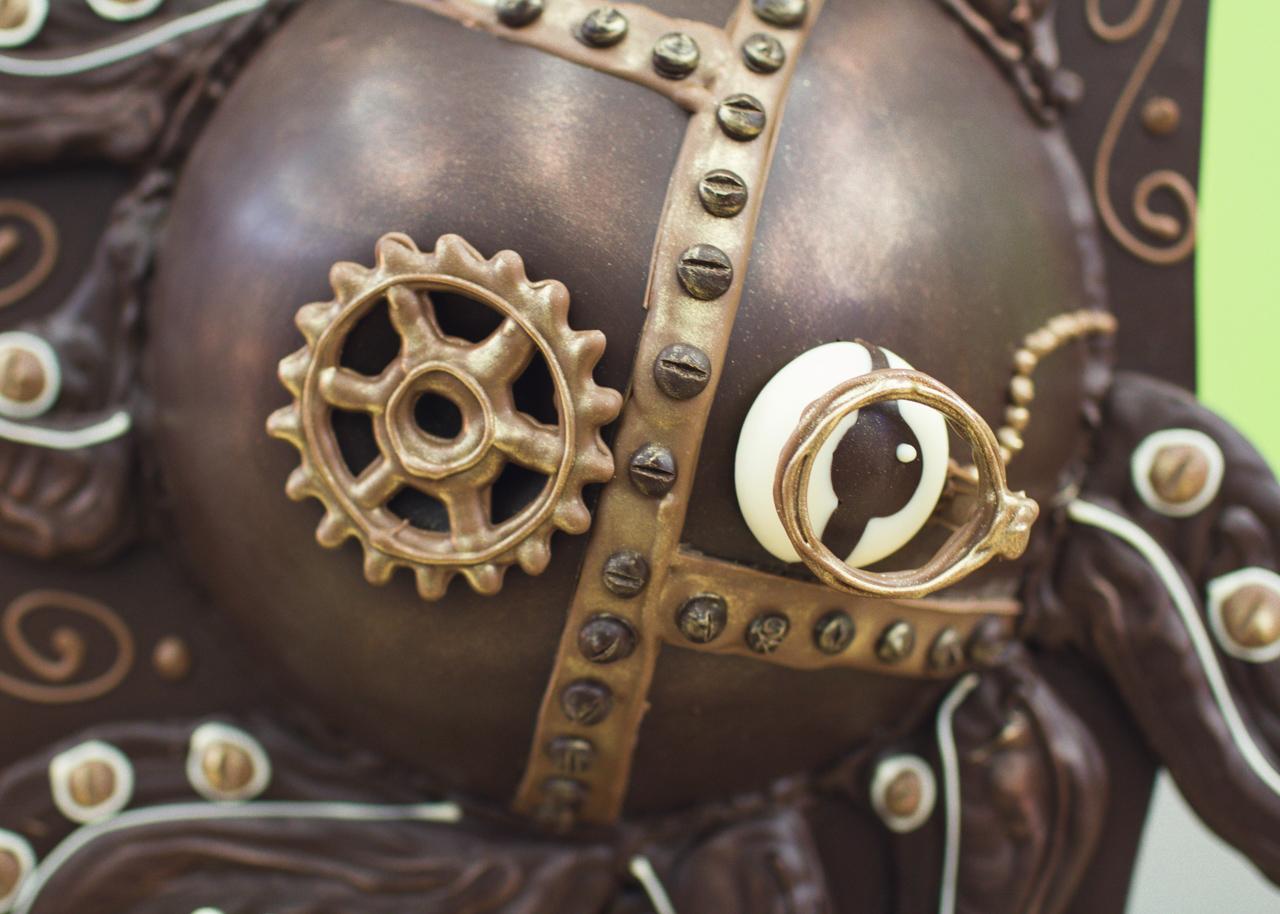 Steampunk choctopus