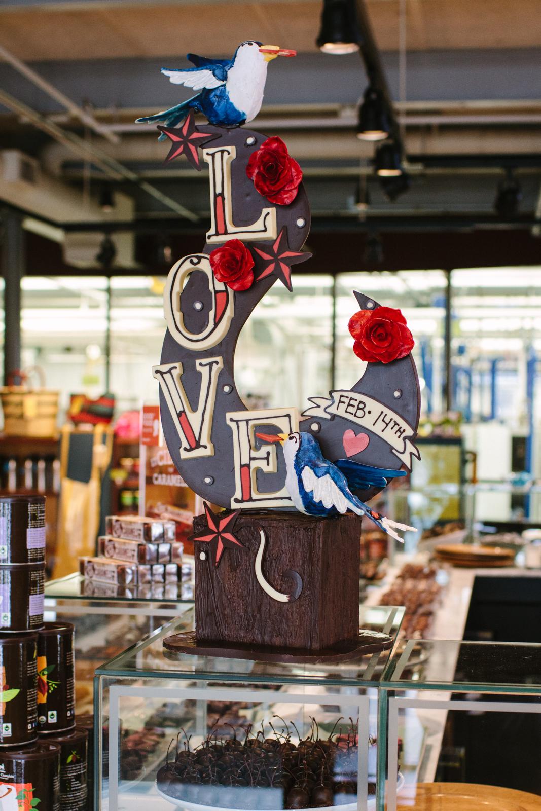 valentines-day-chocolate-sculpture